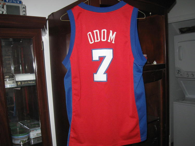 huge discount 91b0c 629ea LA CLIPPERS LAMAR ODOM AUTHENTIC NIKE YOUTH ROAD JERSEY(L )EMBRIODED!