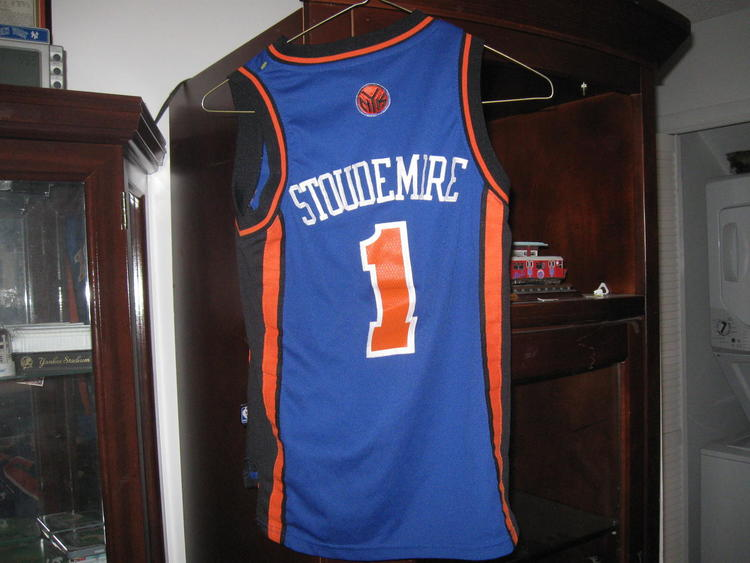 a5a0d5ddefd Adidas NY KNICKS AMARE' STOUEMIRE AUTHENTIC YOUTH ROAD JERSEY(S )EMBRIODED!  | 15% OFF | Basketball Apparel & Jerseys | SidelineSwap