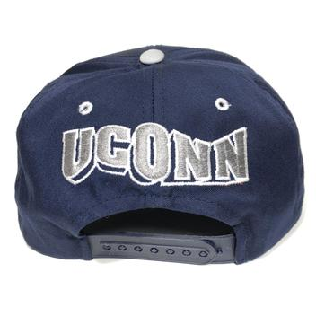 5957d4ab0ba Vintage UConn Huskies Snapback Hat Connecticut - NEW LISTING