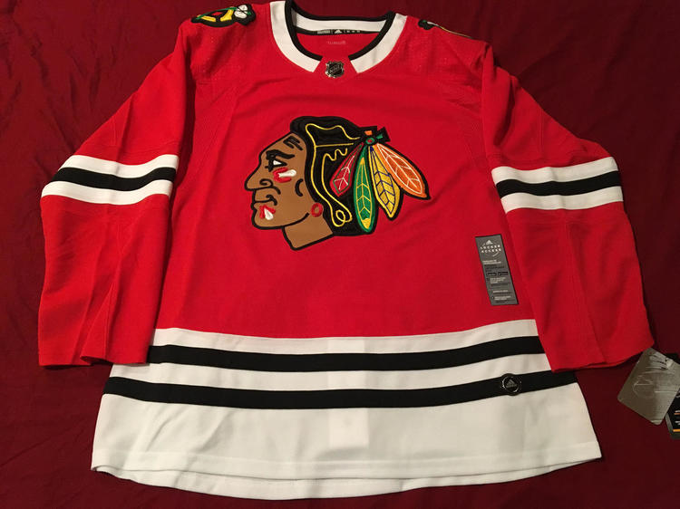 8a602e5b7 Chicago Blackhawks Adidas Size 52 NHL Hockey Jersey - New With Tags   100%  Licensed Authentic