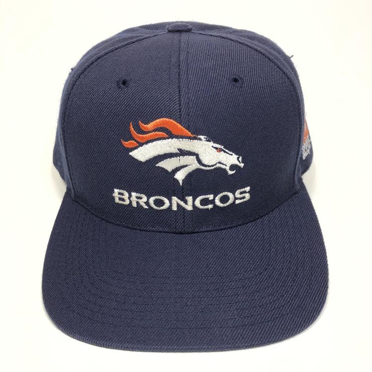 pretty nice 613a0 acfb5 Vintage Denver Broncos Snapback Hat Sports Specialties Plain Logo