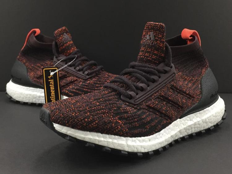 81f5fd632 New adidas UltraBoost ATR J All Terrain Mid Boy s Running Shoes sz 5.5Y  Burgundy Red