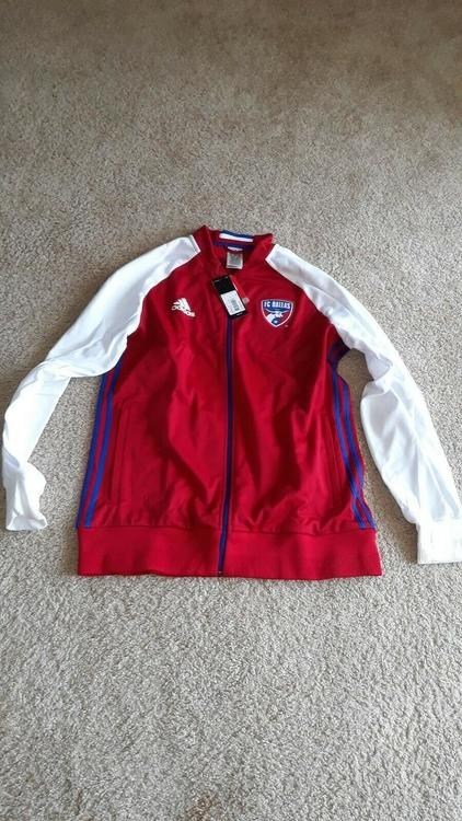check out fef6d 926e9 Adidas FC Dallas Jacket