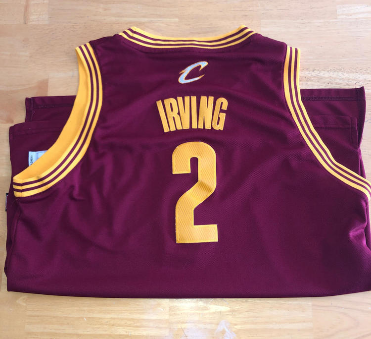 separation shoes cd95e 58894 Kyrie Irving Cavaliers Jersey