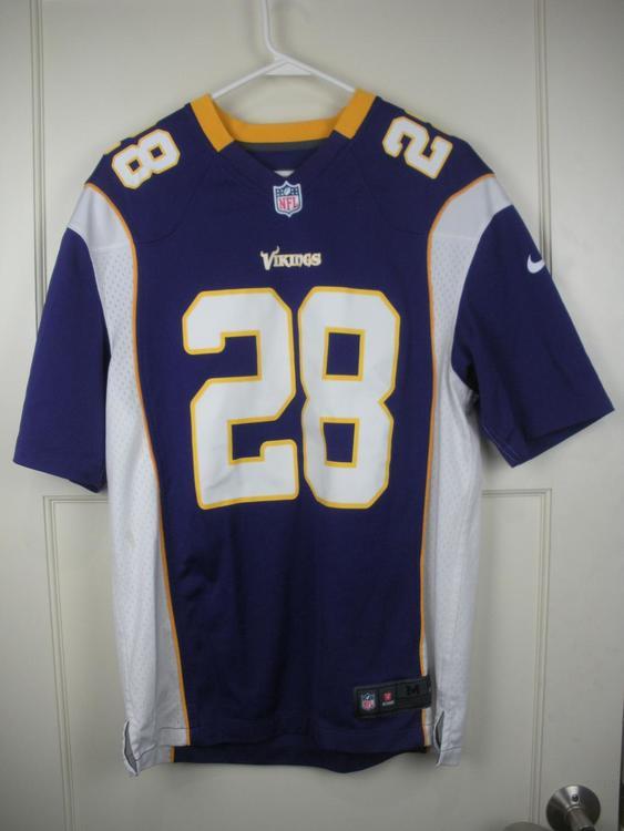 brand new 998f8 15cca Minnesota Vikings Adrian Peterson #28 Nike On-Field NFL Football Jersey  Adult M