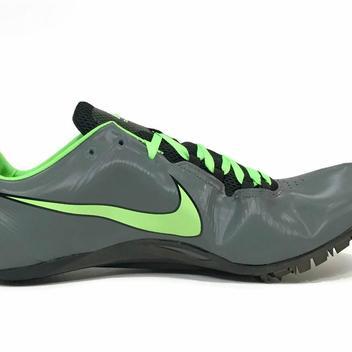 1e094df6da4 Nike New Mens Zoom Ja Fly Sprint Racing Track Spikes sz 15 Gray ...