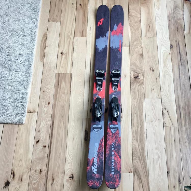 Nordica 2019 Enforcer 110 With Bindings Skiing Skis