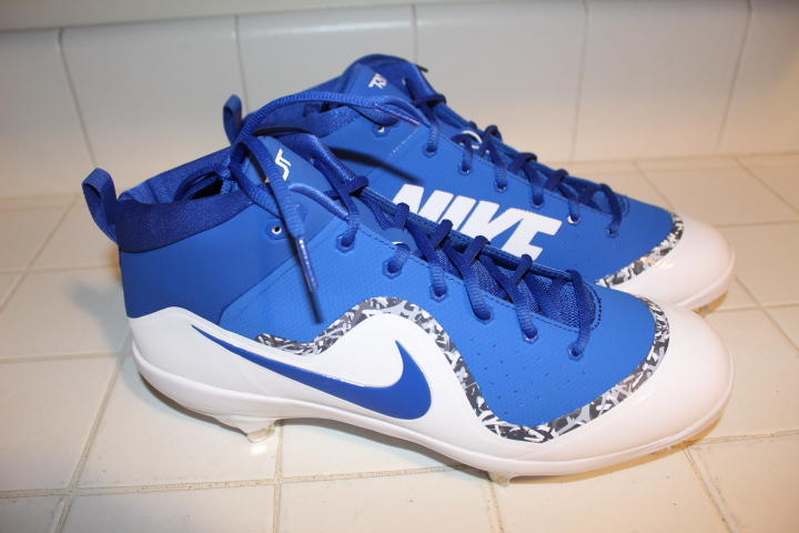 545a59573 NIKE PRO MIKE TROUT IV 4 FORCE AIR BASEBALL CLEATS 13 METAL SPIKES BRAND NEW  ELITE  100 WHITE ROYAL. Related Items