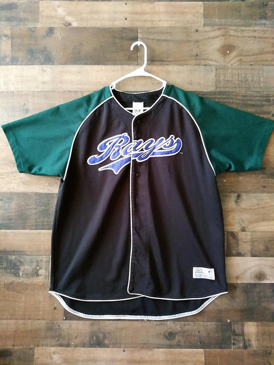 huge discount c409f cd265 Defunct MLB Baseball TAMPA BAY DEVIL RAYS Embroidered Button Jersey