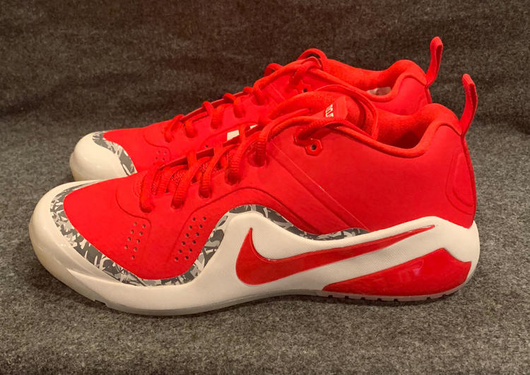 42fd0f9e5bf Nike Force Zoom Trout 4 Turf Baseball Shoes Mike Trout Red 917838-661 Size  11.5