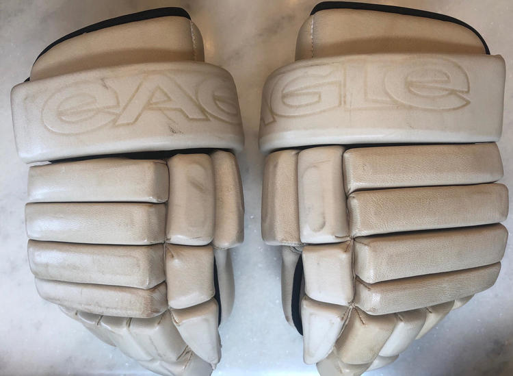 "Eagle H34 Tan Gloves 14"""