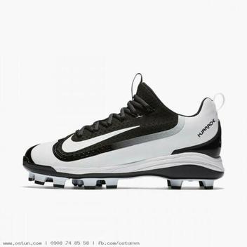 630c9b58e9ef6 Nike Air Huarache 2KFilth Elite MCS Low Baseball Cleat 819336 010 Black  White