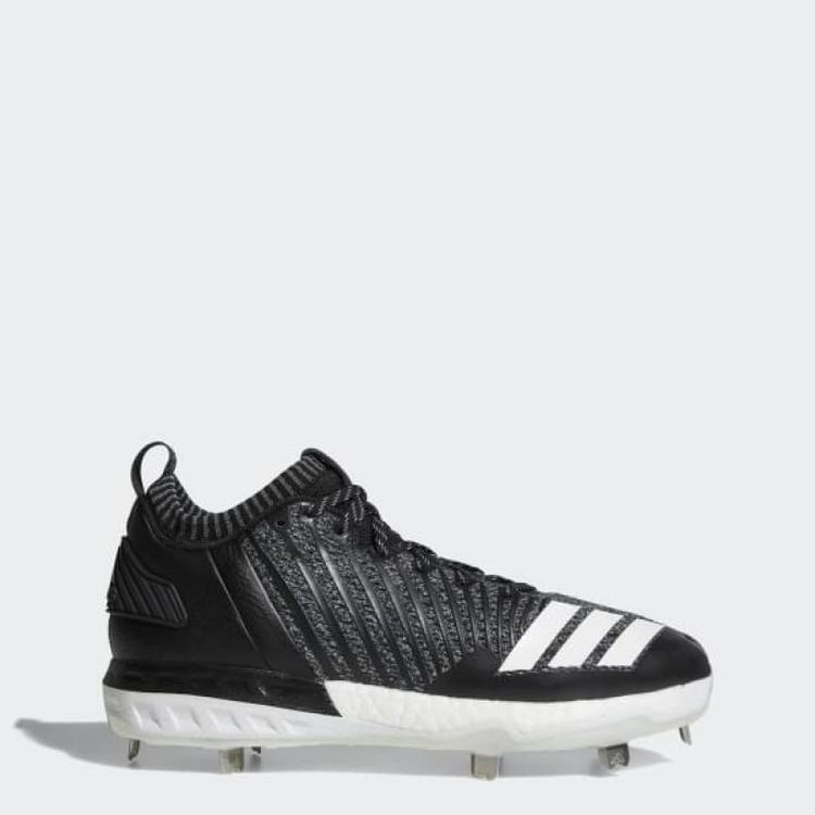 06badb0ed1c Adidas Boost Icon 3 Black Grey DB1793 Afterburner Metal Baseball Cleats.  Related Items