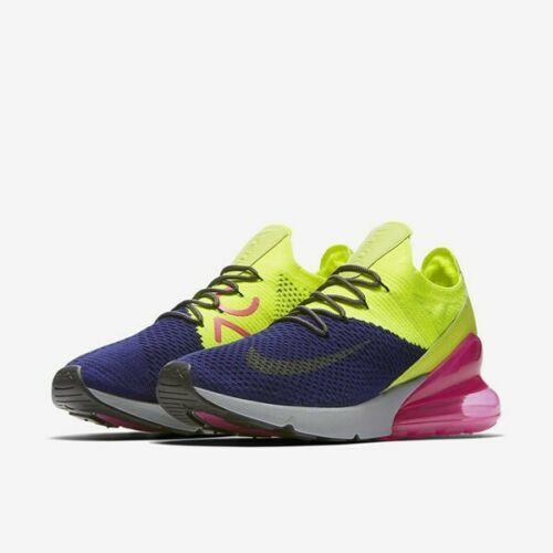 f0403cd6cd839b Nike Air Max 270 Flyknit sz 13 Regency Purple Volt Pink AO1023 501.  Comments (0) Favorites (1)