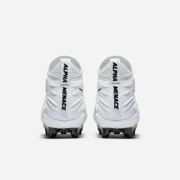 huge discount 9d892 01958 Nike Alpha Menace Elite sz 10 White Black 871519 101 Cleats Vapor ...