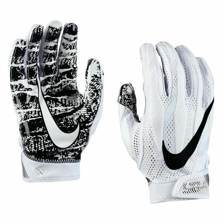 100% authentic 7b843 7e5b1 Nike SuperBad 4 sz S SMALL Skill Football Gloves GF0627 100 - White Black.  Related Items