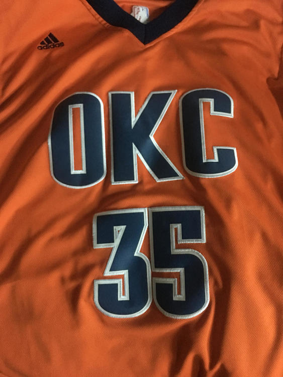 e2c0b93f3ad4 Kevin Durant OKC Alternate Jersey. Related Items