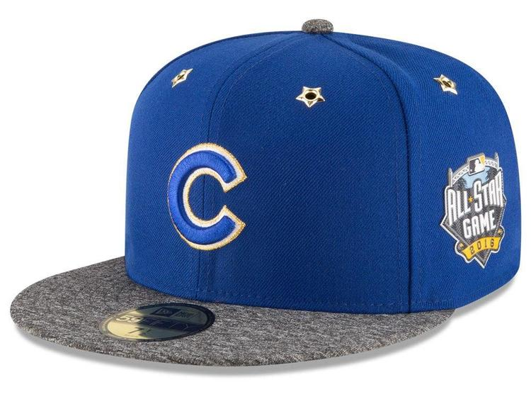 5708c21a668 CHICAGO CUBS ALL STAR GAME NEW ERA ON-FIELD HAT 5950 SIZE 7 1 4 BRYANT  RIZZO BRAND NEW FITTED HTF - PRICE DROP