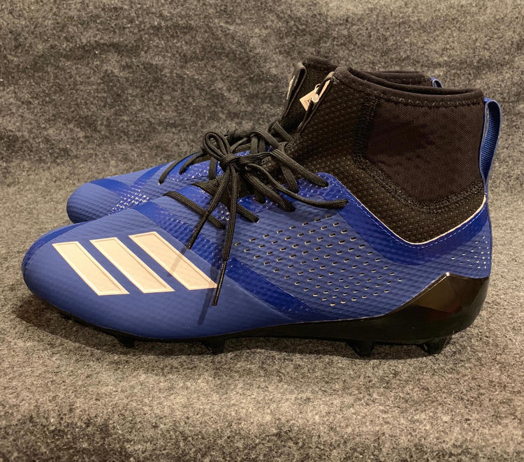 afc2d7d4d Adidas AdiZero 5-Star 7.0 SK Mid Football Cleats DA9555 Blue White Size  12.5. Related Items