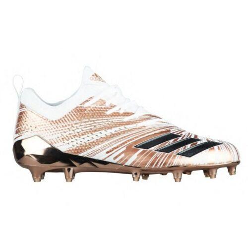 65df3c139a1b Adidas AdiZero 5-Star 7.0 Metallic Rose Gold sz 12 CQ0346 Chrome Football  Cleats. Related Items