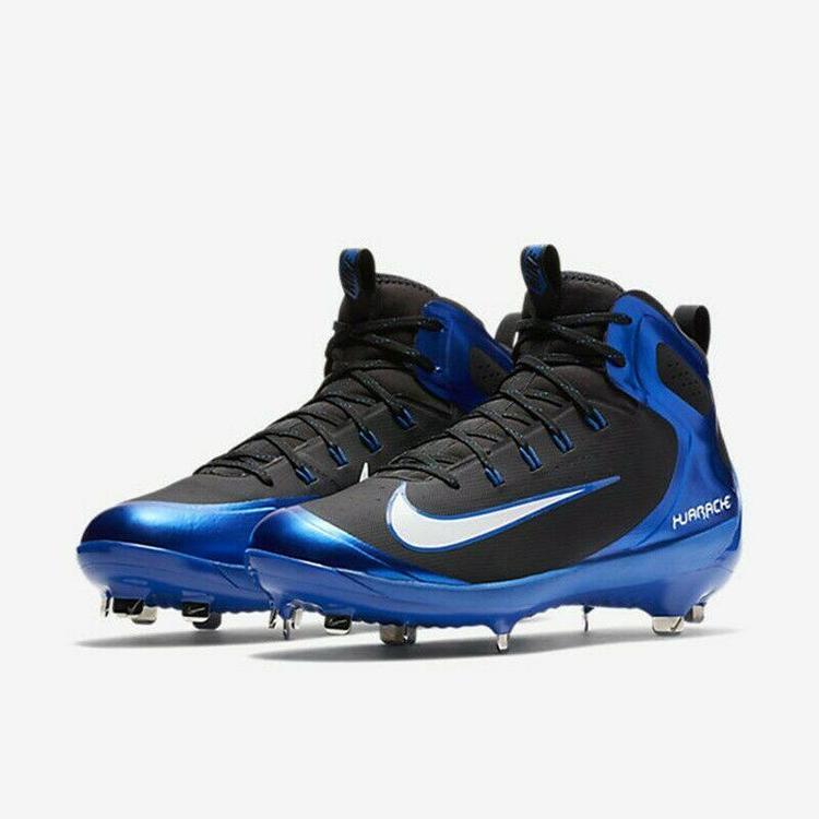 los angeles def9c 3d065 Nike Alpha Huarache Elite Mid sz 10.5 Royal Blue Black 923428 410 Metal  Baseball. Related Items