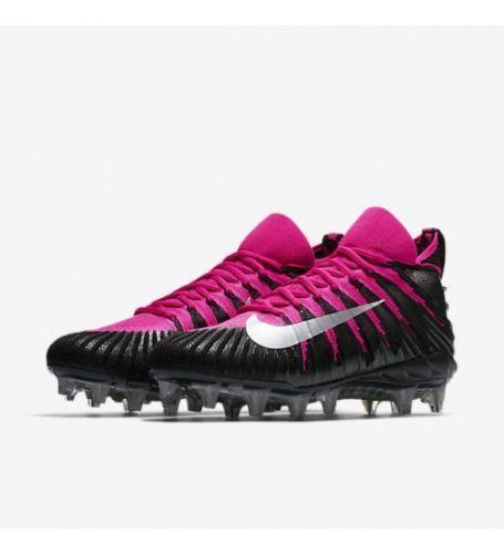 new arrival 539ff 6c6b3 Nike Alpha Menace Elite TD BCA sz 10 Black Pink 918203 006 Breast Cancer.  Related Items