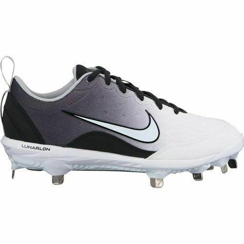 cbb3203c590d Nike Lunar HyperDiamond 2 Pro sz 7 White Black 856492 012 Metal Softball  Cleats. Related Items