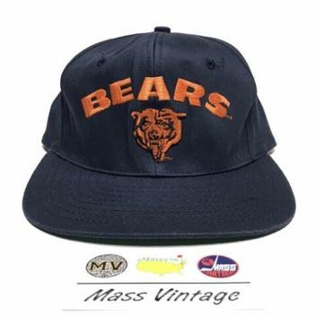 ... Snapback Hat NFL Football · Mass vintage ·  25 · VTG Chicago Bears Navy  ... 2e6de4991