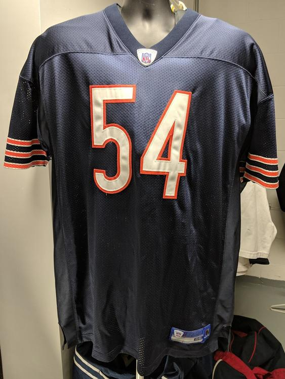 outlet store b62fb 24672 *NEW* Brian Urlacher Chicago Bears Gamewear Authentic Jersey