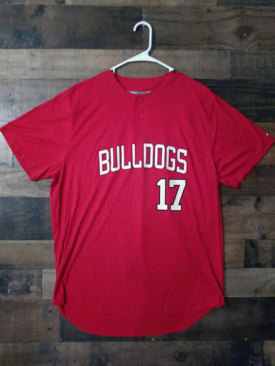 official photos 0f9a3 681a5 New NCAA College UGA UNIVERSITY GEORGIA BULLDOGS Team Issue Baseball Jersey