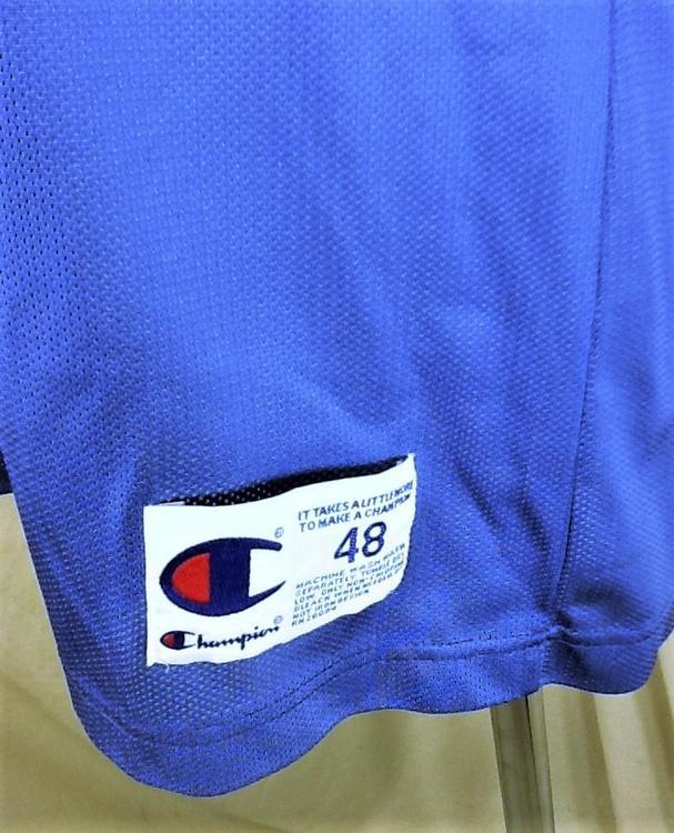ee3195dd9 Vintage 90 s Champion Minnesota Timberwolves (XL 48) Retro Wally Szczerbiak   10 Blue Jersey
