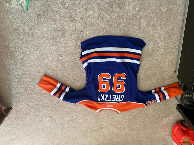 hot sale online 68340 71439 Wayne Gretzky Hockey Jersey Youth Xl