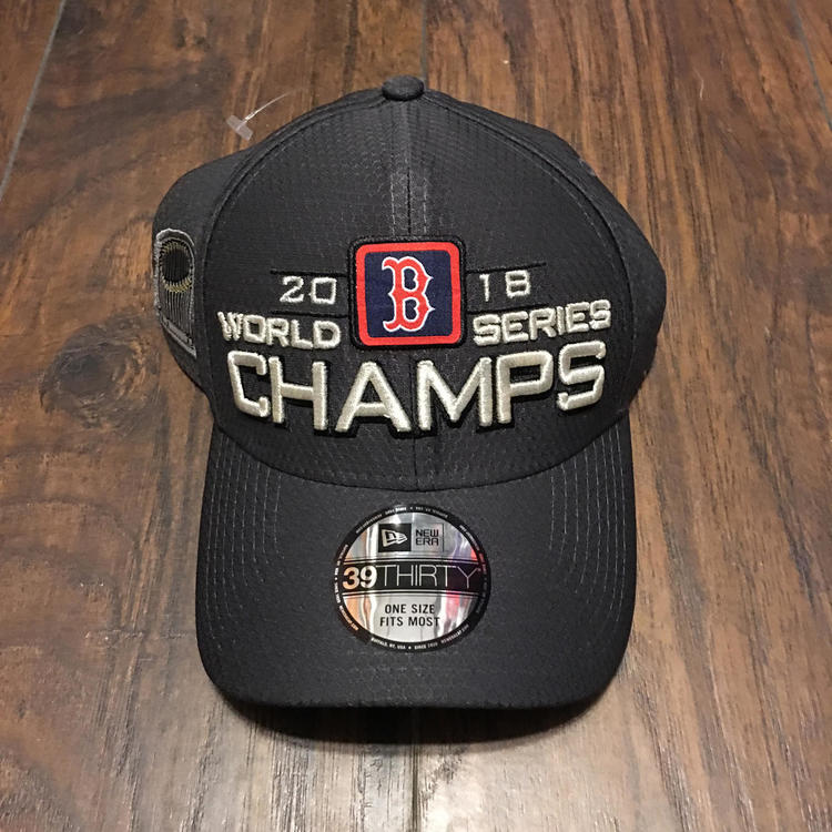 sports shoes 3b1ef 5e8a7 Boston Red Sox 2018 World Series Champions Hat