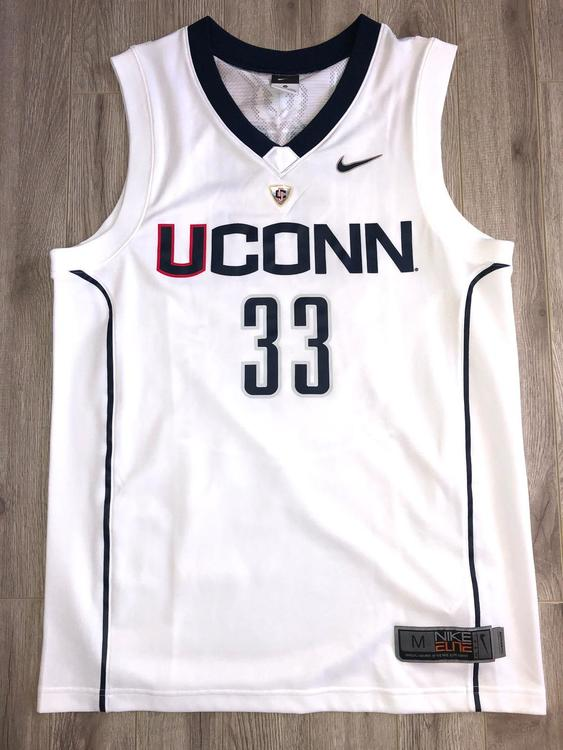 separation shoes a96b1 fbecb Nike UCONN Men's Official Basketball Jersey #33