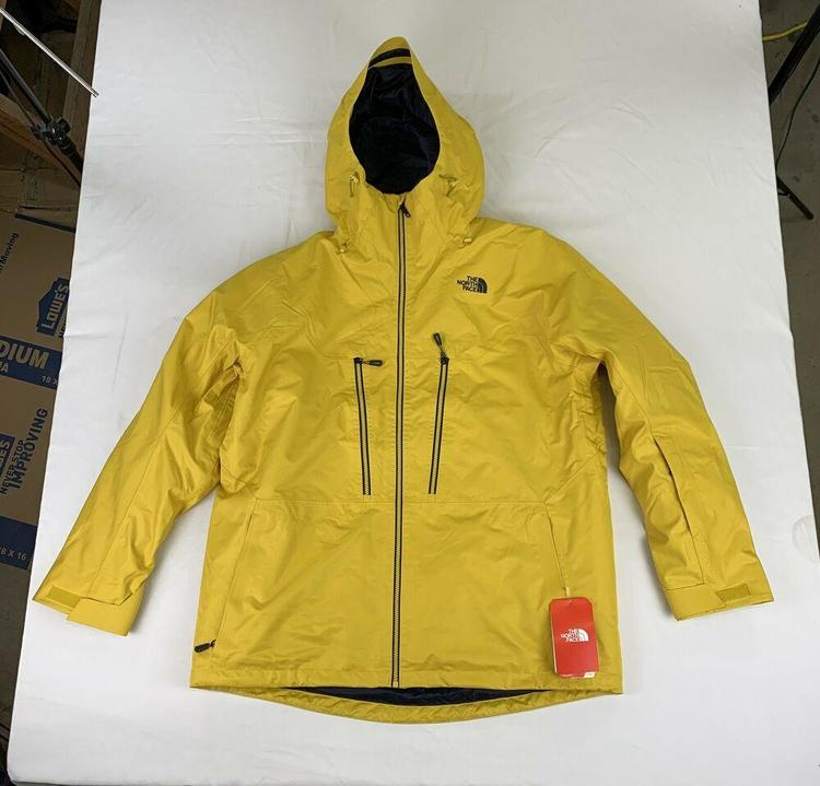fa13b56c3 MENS THE NORTH FACE THERMOBALL SNOW TRI-CLIMATE, 3 IN 1 JACKET, GOLD, XXL,  NWT!