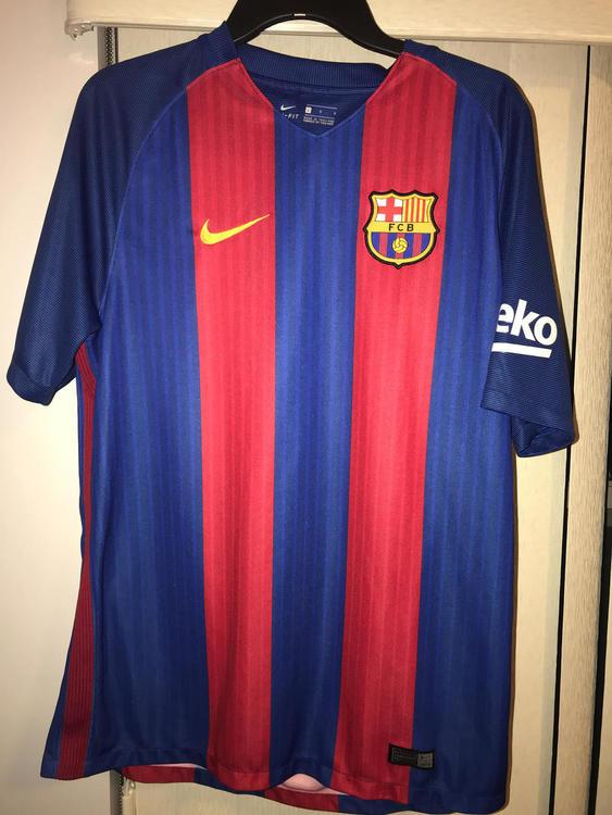 official photos 91b7d 66743 Barcelona Soccer Jersey