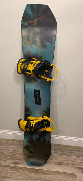 Ride Helix 2019 159wide Snowboarding Snowboards