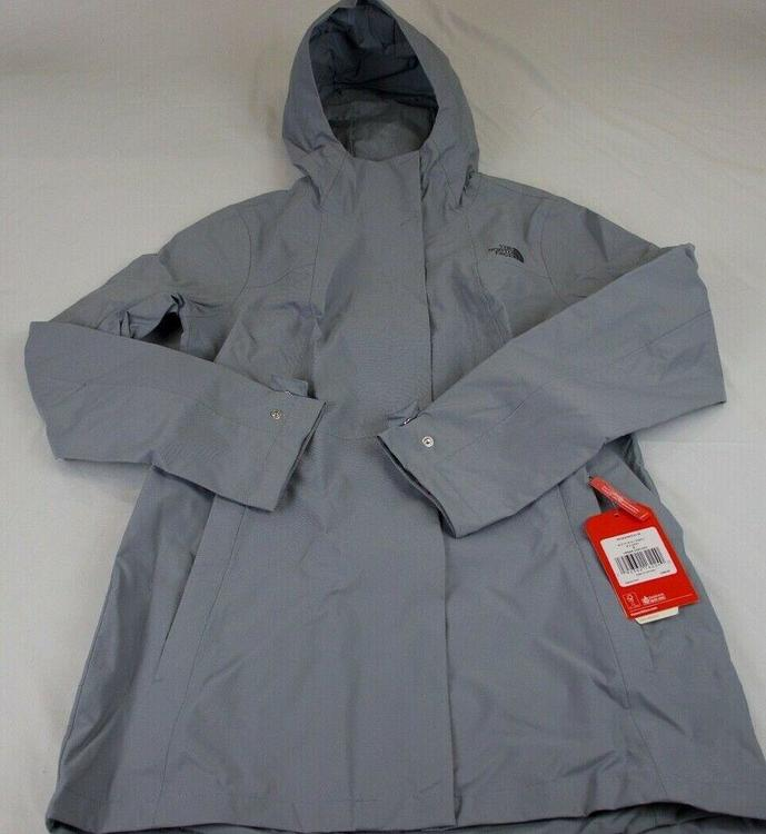 baf75e7e1 WOMENS THE NORTH FACE CITY MIDI TRENCH, RAIN COAT/JACKET, MEDIUM, GREEN,  NWT!