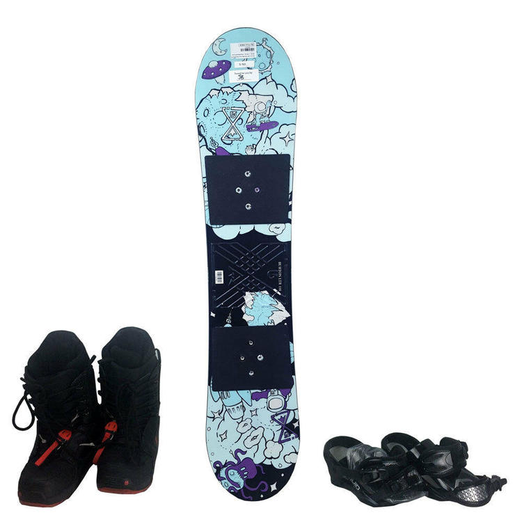 Emsco Group 1069 45 X 11 Freeride 110 Blue Dragon Snowboard Assorted Colors