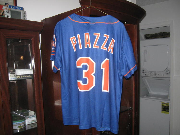 sale retailer 75549 51720 NY METS MIKE PIAZZA JERSEY (S)HALL OF FAME!