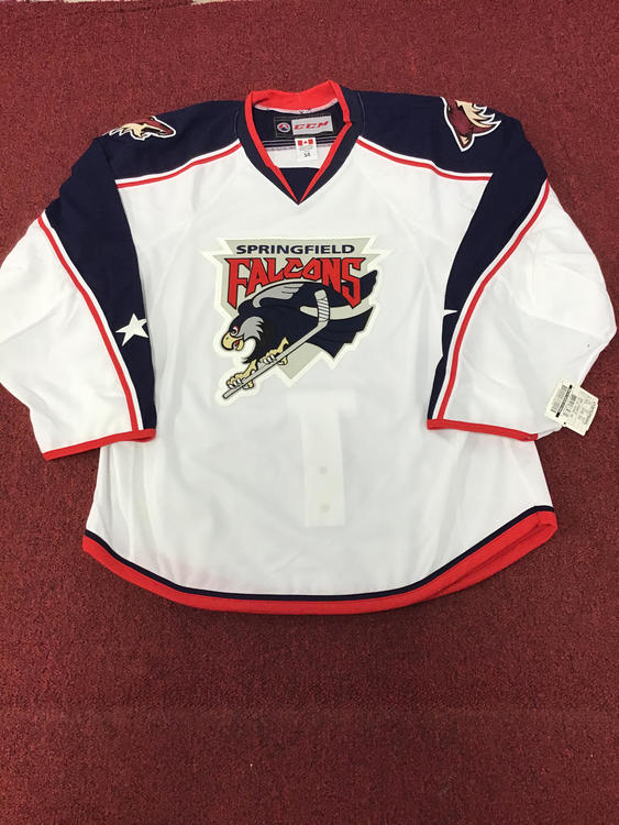 0c54c4968 CCM Springfield Falcons Game Jersey Size 54
