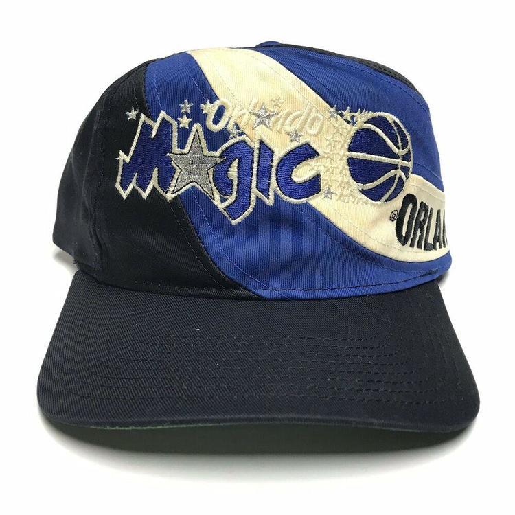 9ca3a1fe VTG Orlando Magic Swirl Snapback Hat NBA Basketball 1990s Cap Black Blue  White. Related Items
