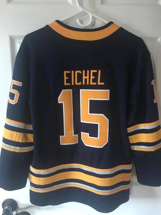 buy online 94490 ec977 JACK EICHEL (15) Buffalo Sabres Jersey Youth L/XL