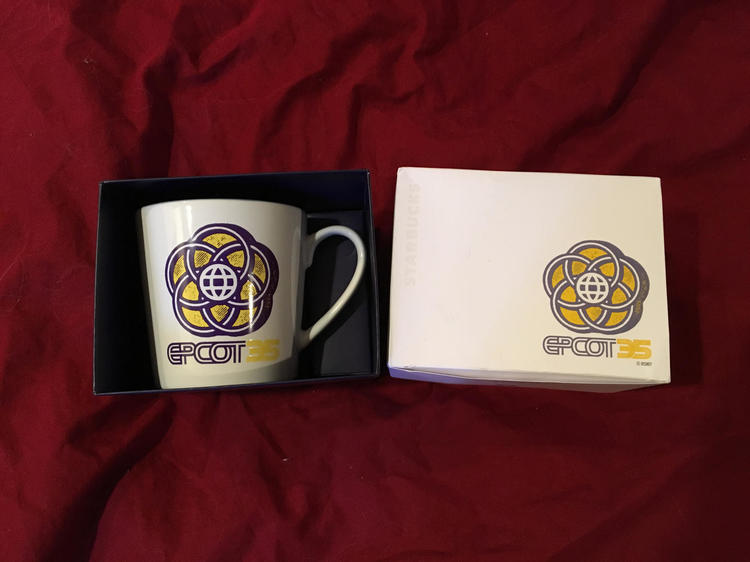 Walt Disney World Starbucks Been There Series Epcot 35 Anniversary Coffee Mug