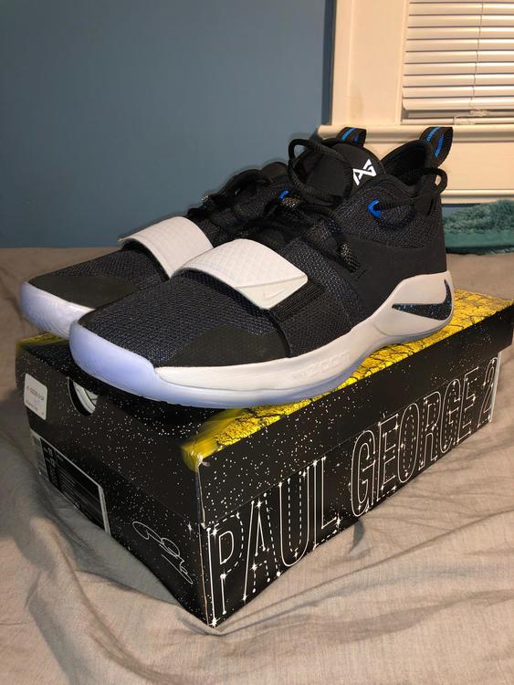 5704ef763555 Nike Lightly Used Paul George Basket Ball Shoes
