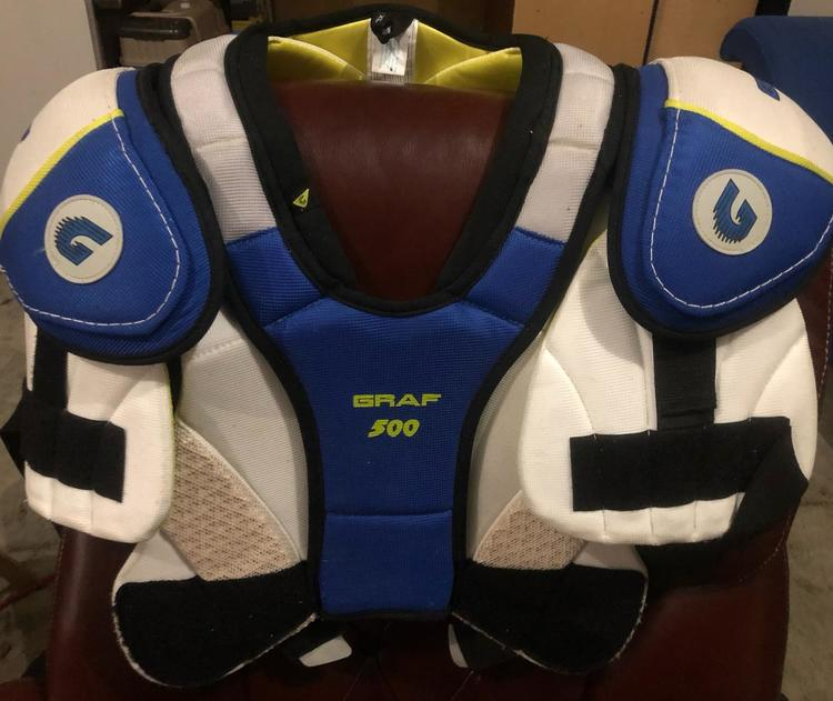Graf 500 FSG Senior XL Shoulder Pads