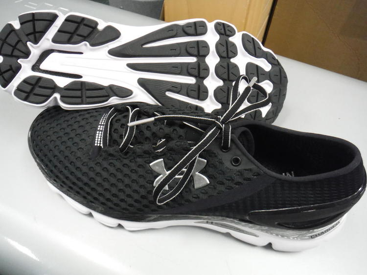big sale 65b8a 0fff3 New Men's Under Armour UA Speedform Gemini 2 Spikeless Golf Shoes - 14M -  Black/White