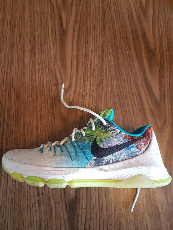bdb1cf000b67 Nike KD 8 N7 edition mens shoes 10.5