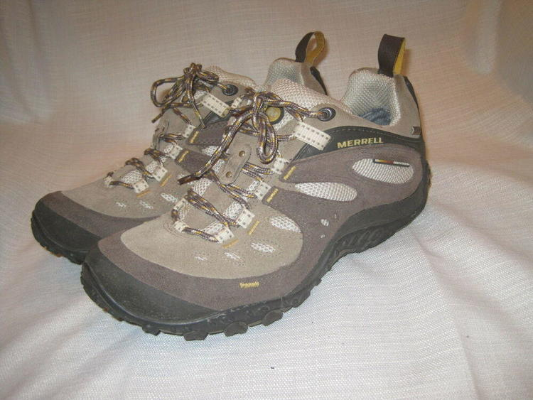 2ec66fecc3d5f Merrell Chameleon Arc Gore-Tex XCR Hiking shoes women's 9.5 brown trail |  EXPIRED | Hike & Camp Hiking Boots & Shoes | SidelineSwap