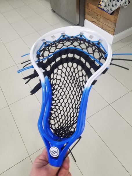 STX StringKing Maverik Warrior Epoch LACROSSE Head CUSTOM Stringing Service NEW